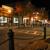 Main Street, Bar Harbor at night.