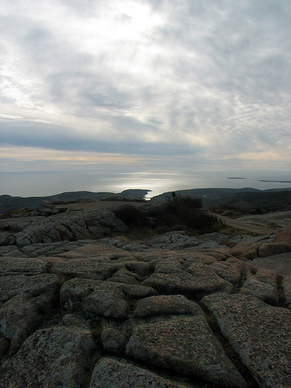 The view from Cadillac Mountain in Acadia National Park. It's the highest point along the north Atlantic seaboard. (Click any image in this blog entry for larger version in new window.)