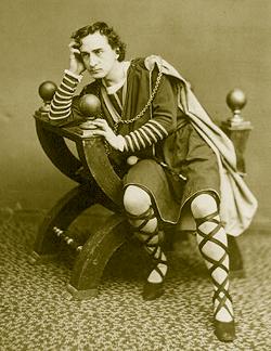 Edwin Booth as Hamlet, 1870