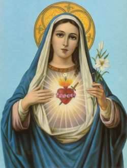 The diminutive mother of the Almighty did not die of heartburn as some religious artists would have us believe.