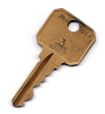 A key very similar, if not identical, to this one