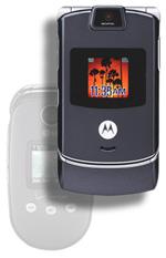 The Motorola RAZR succeeds the LG VX8350