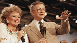 Jim and Tammy Bakker at the height of their prosperity
