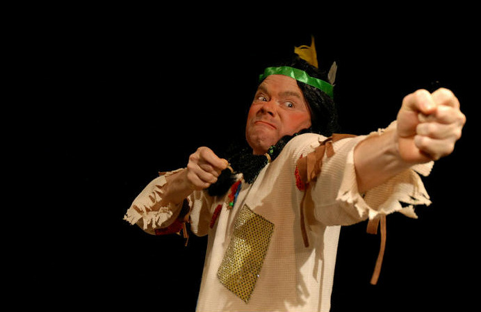 Mark Filiaci, shown here as Mortimer in our 2007 production of 'The Fantasticks,' will direct.