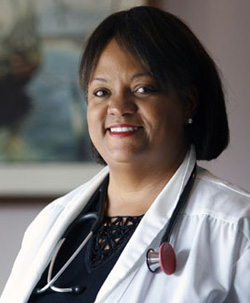 Surgeon General and healthy role model Regina Benjamin
