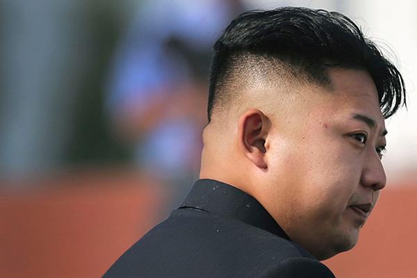 Kim Jong-un, Supreme Leader of the Democratic People's Republic of Korea.