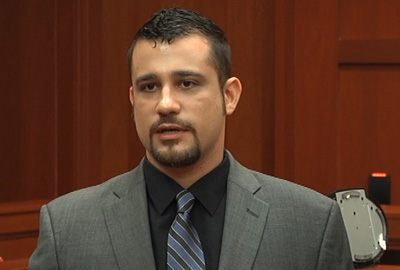 Robert Zimmerman on the stand during his brother's murder trial