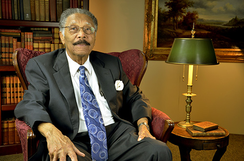 State Senator Ralph Anderson of Greenville after his October 31 interview at the Upcountry History Museum (Click to up-rez.)