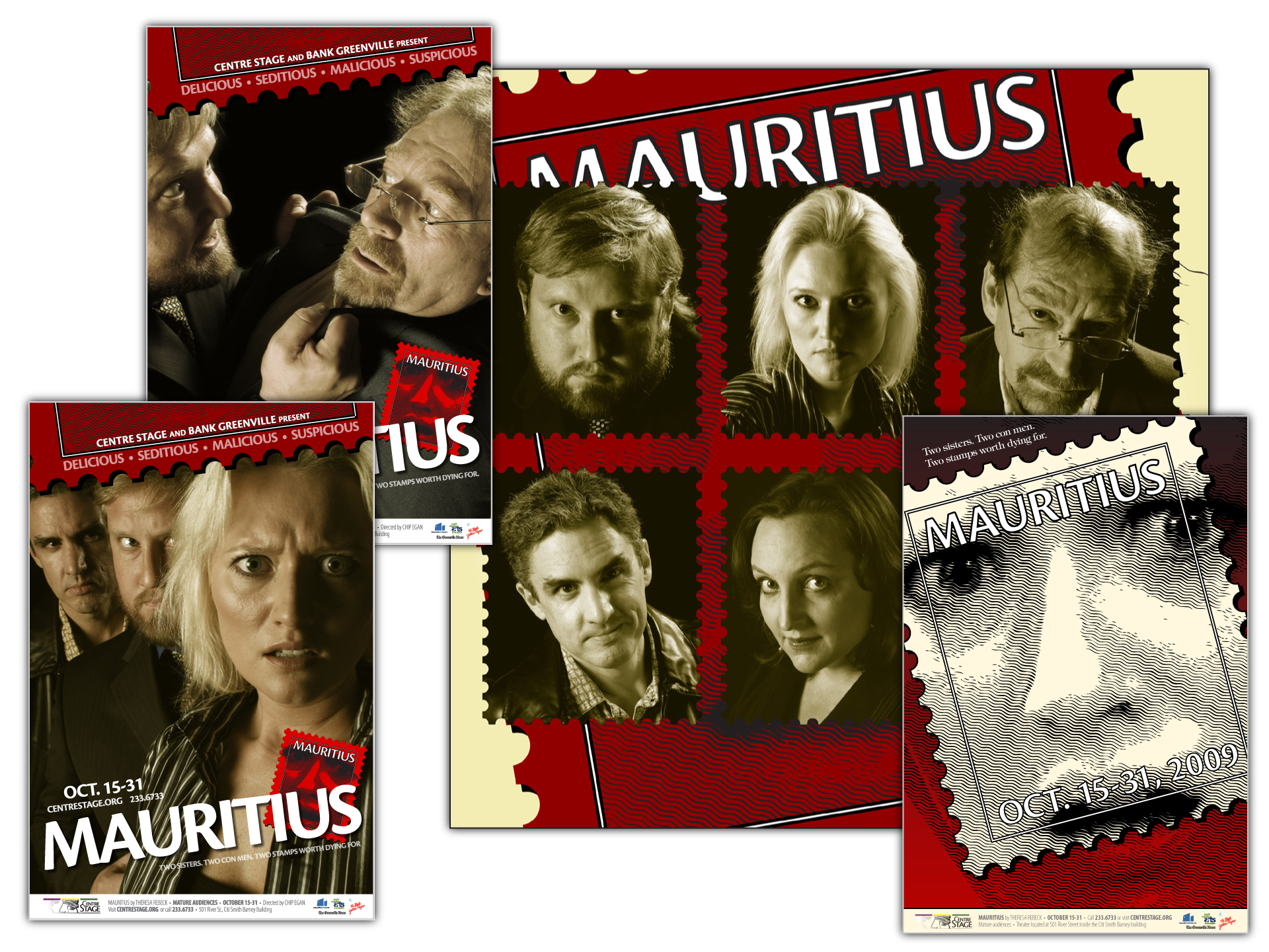 """Concept, graphics, photography and layout for production of """"Mauritius"""""""