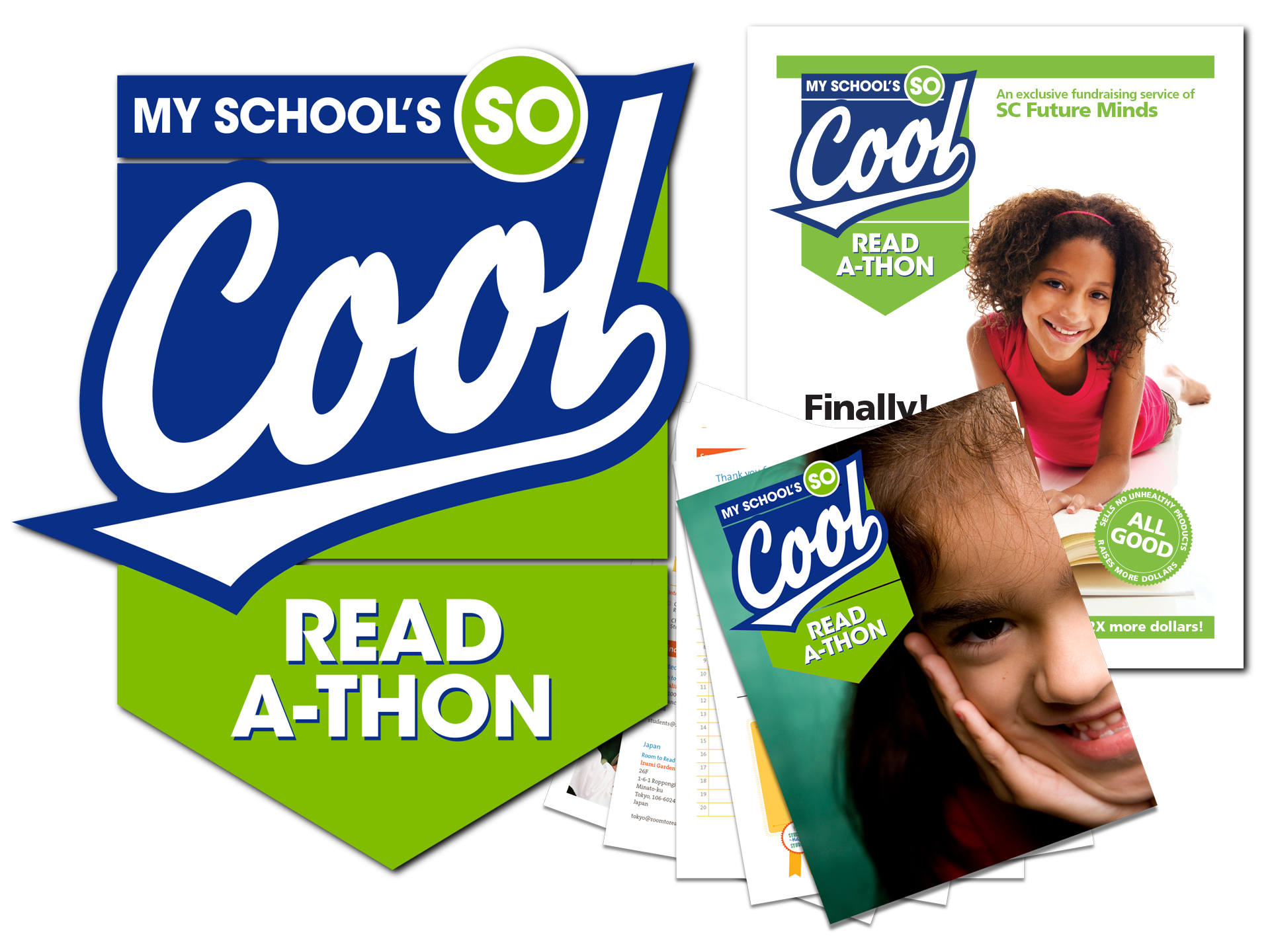 Branding and layout for reading initiative